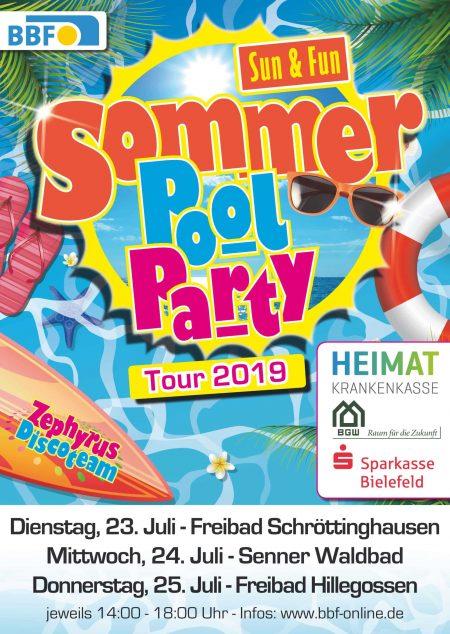 BIELEFELD PLAKAT SOMMER TOUR 2019